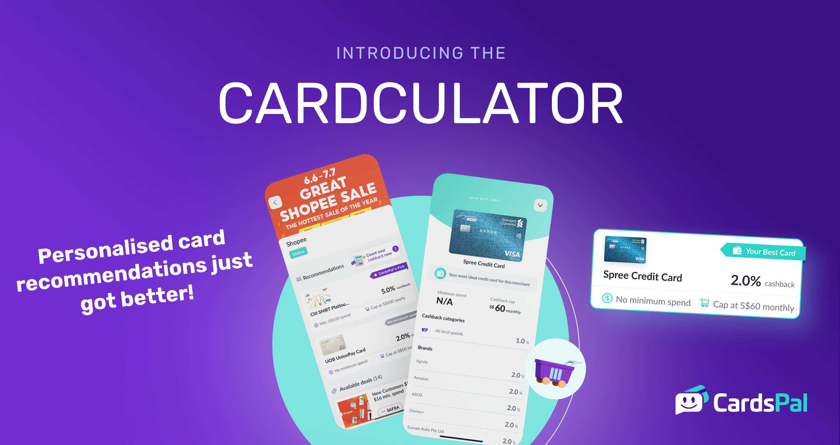 Here's how you can save more with CardsPal's new Cardculator!