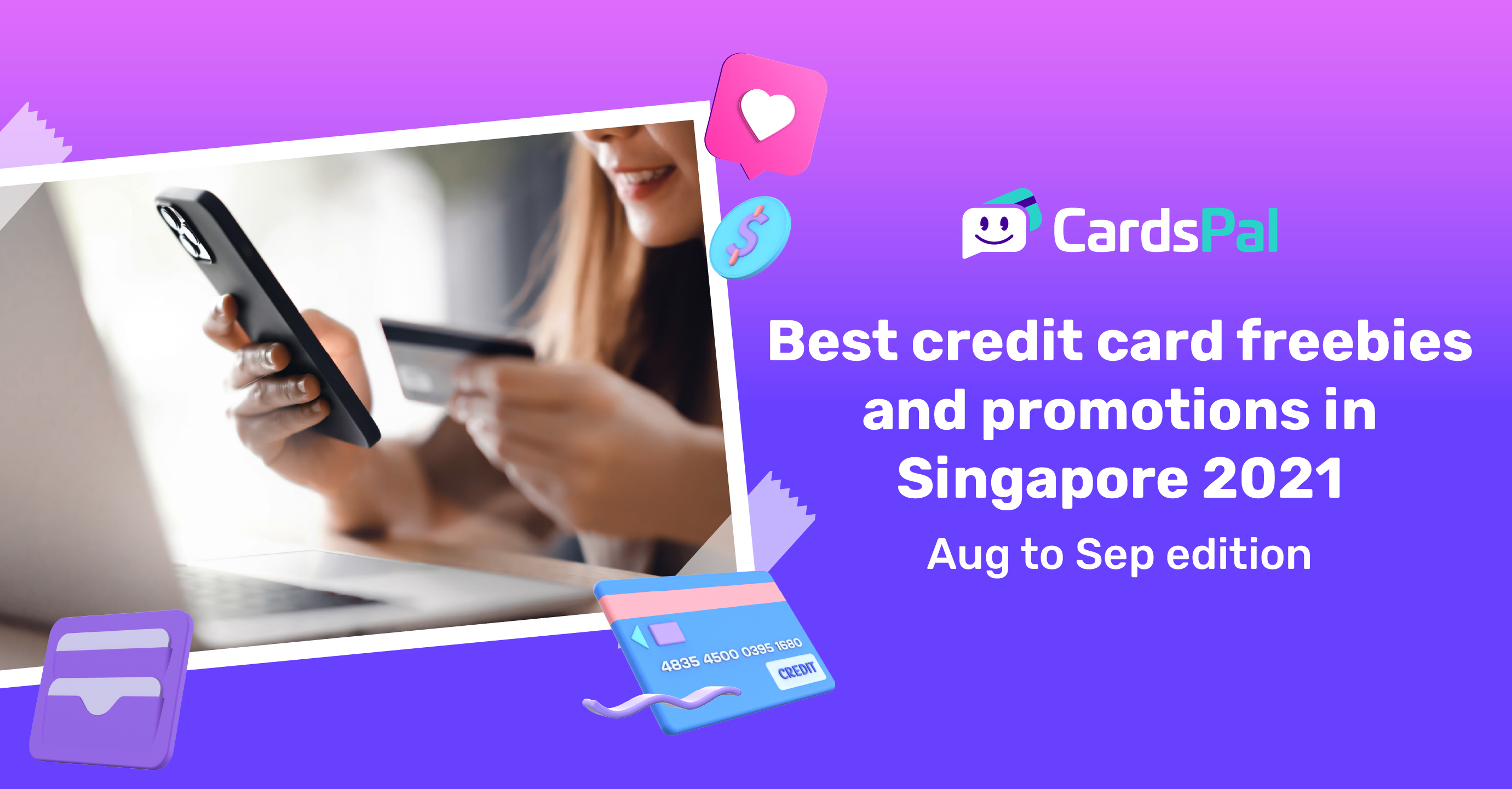Best credit card freebies and promotions in Singapore 2021 (Aug to Sep edition)