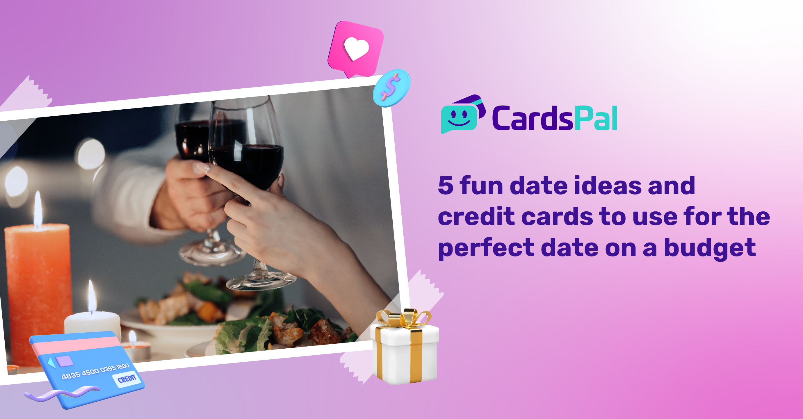 5 fun date ideas and credit cards to use for the perfect date on a budget
